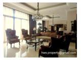For sell Airlangga Apartment (4 Bedrooms,440m2) fully furnished Mega Kuningan Jakarta