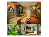 Dijual Apartemen Swarnabumi Residence, Bandung - 2 BR 31 m2 Full Furnished