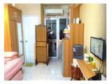 JUAL Apartemen Green Pramuka City Murah – Type Studio Full Furnished dan Bersih