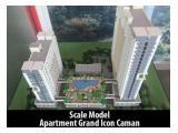 Apartemen Grand Icon Caman Bekasi 2BR SERAH TERIMA 2017