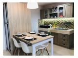 Jual / Sewa Apartemen Trivium Lippo Cikarang - New 2 Bedrooms 56 m2 Fully Furnished