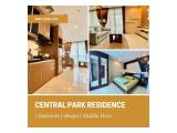 For Sale / Rent Central Park Residences 1 Bedroom 44sqm Fully Furnished