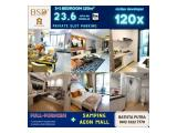 Apartment SKY HOUSE (samping AEON MALL + seberang THE BREEZE + ICE BSD) - DP 5% - FULLYFURNISHED