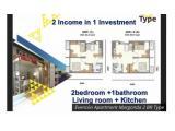 Jual Apartemen Evencio Margonda Depok - Studio Full Furnished ( 550 jt ) Termurah