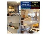 Apartment SKY HOUSE (samping AEON MALL + seberang THE BREEZE + seberang  ICE BSD) - DP 5% - SEMIFURNISHED