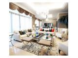 Dijual Apartemen Airlangga Ritz Carlton Mega Kuningan, Jakarta Selatan – Harga Dibawah Pasaran, 4BR 880 m2 Fully Furnished
