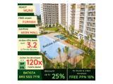 dijual Apartment SKY HOUSE (samping AEON MALL + seberang THE BREEZE + seberang  ICE BSD) - DP 5% - SEMIFURNISHED