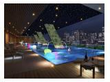 Dijual / Disewakan Apartemen Menteng Park Cikini Jakarta Pusat - Full Furnished Bagus Studio Luas 28 m2