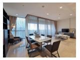 Dijual Apartemen Casa Domaine Shangri-La 3BR Furnished luas 168m2, Rp 5.5 M Termurah