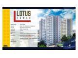 Apartemen Jakarta Barat free Dp & fully furnished 1Bedroom